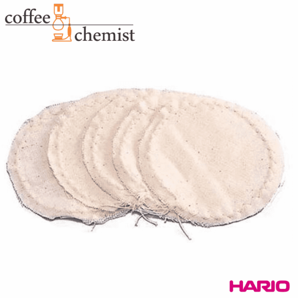 Hario Siphon Cloth Filters - 5 pack