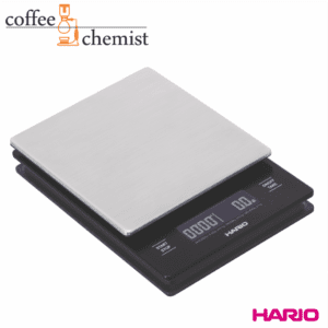 Hario V60 Drip Coffee Scale - Stainless Steel with Timer