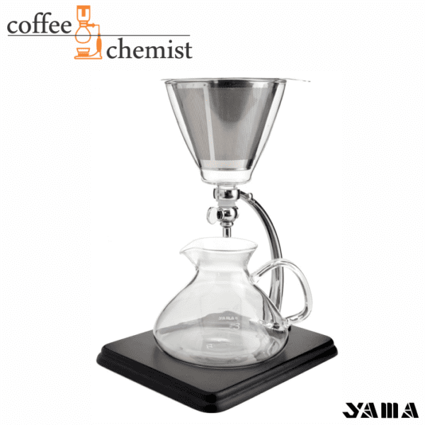 Yama Silverton Dripper with Stainless Steel Filter