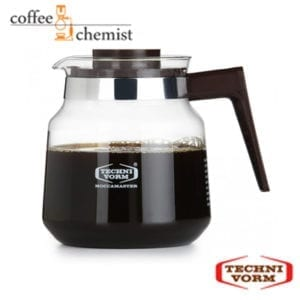 TechniVorm Brown Glass Jug with Lid - 1.25L